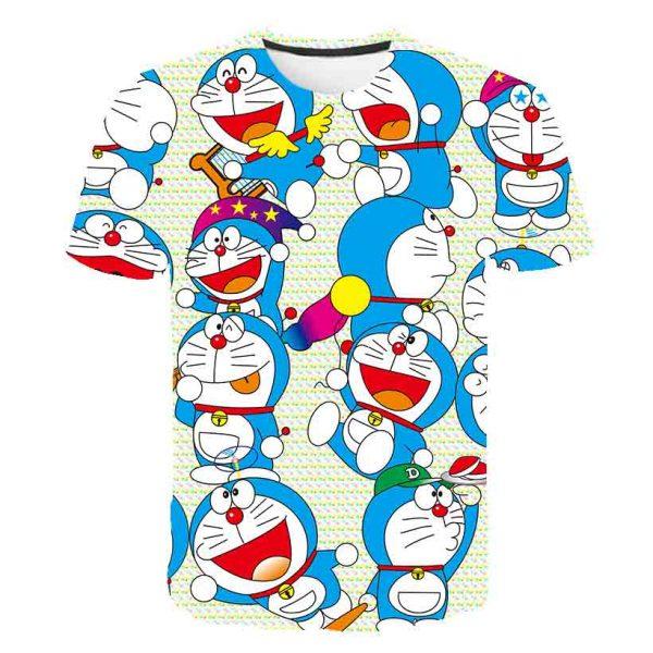 Anime Doraemon Boys T Shirt