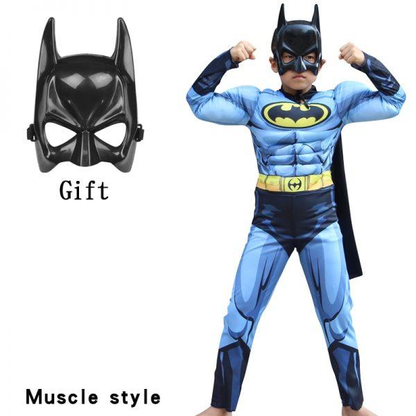 Batman with Cloak mask Suits Costumes