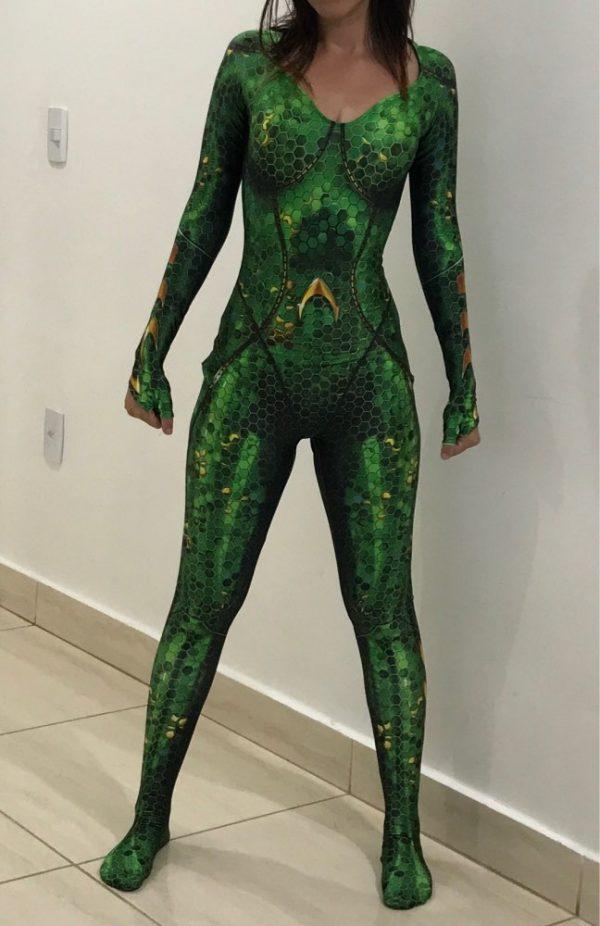 High Quality Quinn Mera Cosplay Costume