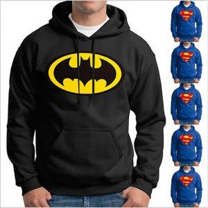 Superman And Batman Sweatshirt Hoodie