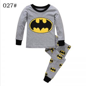 Superhero Batman & Spiderman Boys Pajamas