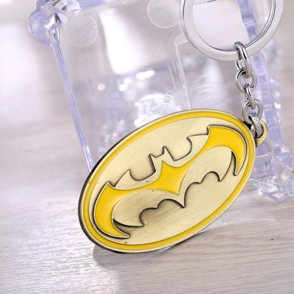 Batman Geometric Keychain