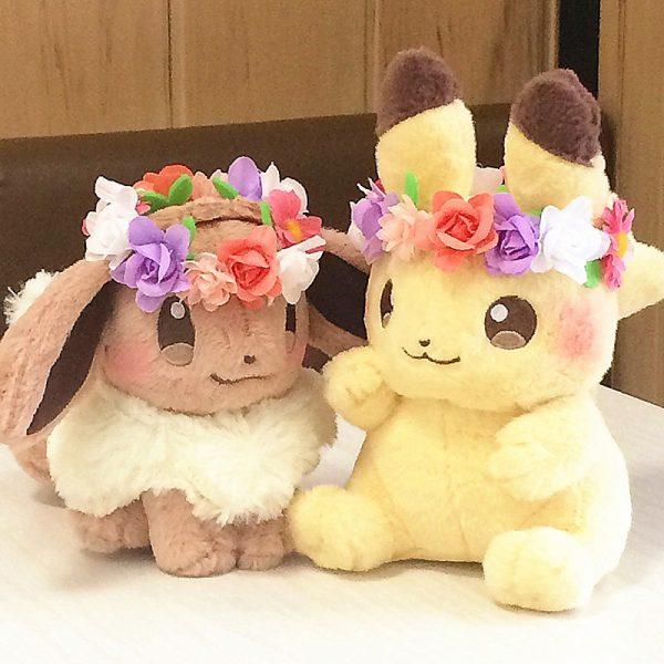 Pokemon anime Pikachu&Eievui's Doll Stuffed Toy