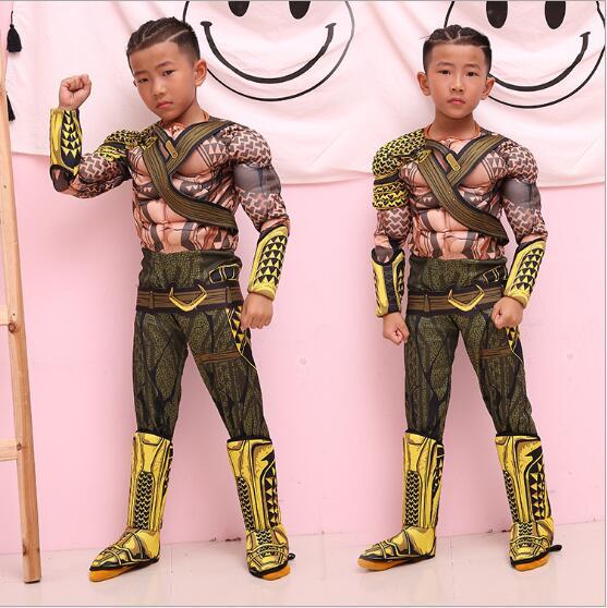 Aquaman Costume for Boys