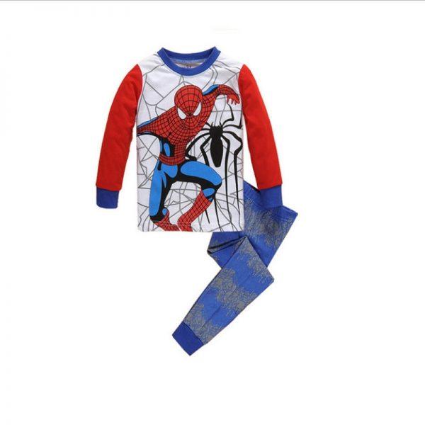 Superhero Batman & Spiderman Boys Pajamas