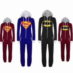 Batman&Superman Cosplay Costum Pajamas