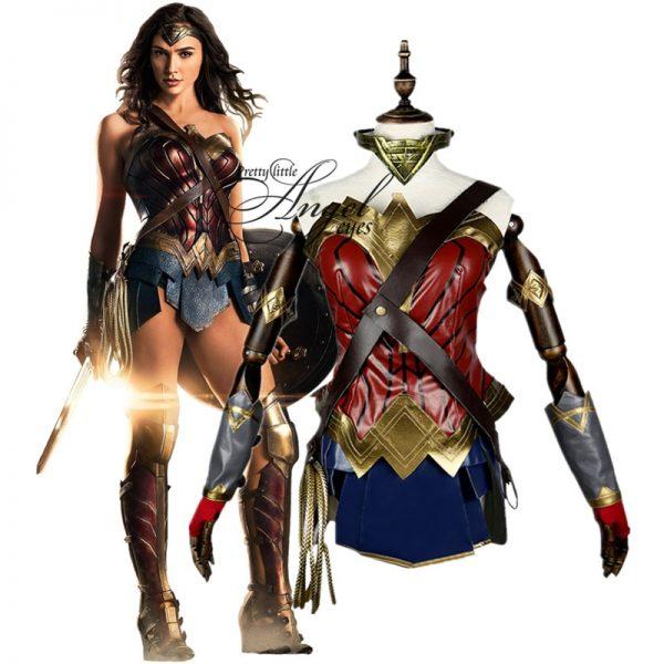 Hero Wonder Woman Costume Cosplay