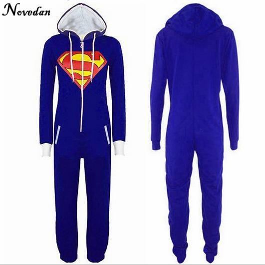 Batman&Superman Cosplay Costum Pajamas