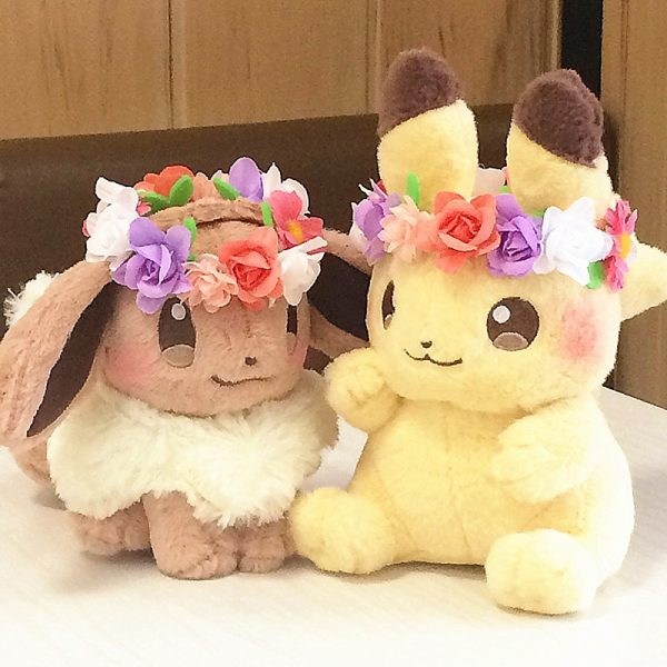 Pokemon anime Pikachu&Eievui's Doll Stuffed Toy