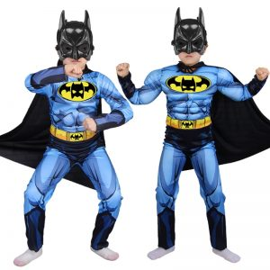 Batman with Cloak mask Suits Costumes