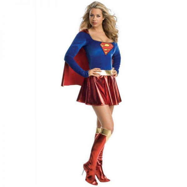 Adult Superwoman Dress Cosplay Costumes