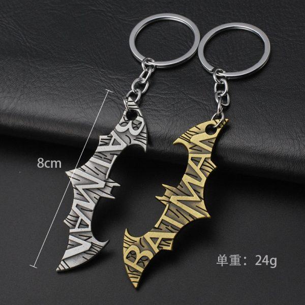 Bat Man Metal Keychains