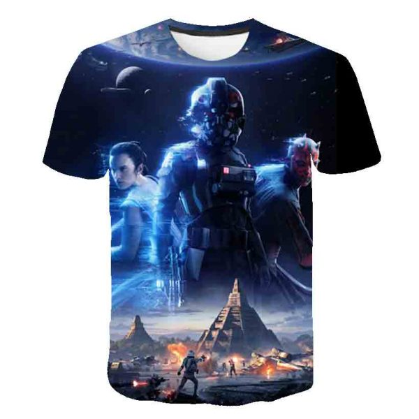 3D Print Tshirt For Boys and Girls