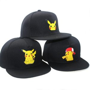 Pokemon Adult Snapback Cospaly Caps