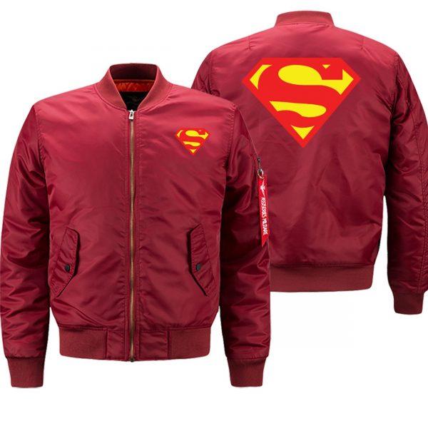 Superman Winter Coat Jackets