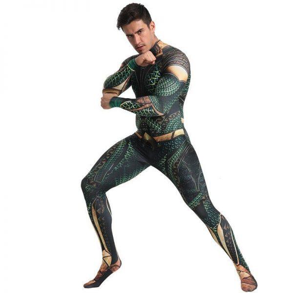 Aquaman Cosplay Costume
