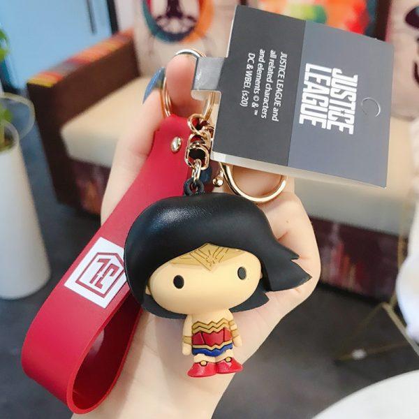 Superman Batman Doll Keychain