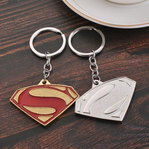 Batman Superman Keychain