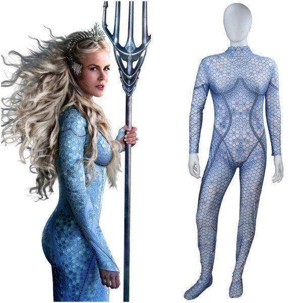 Queen Atlanna Aquaman Costume Cosplay