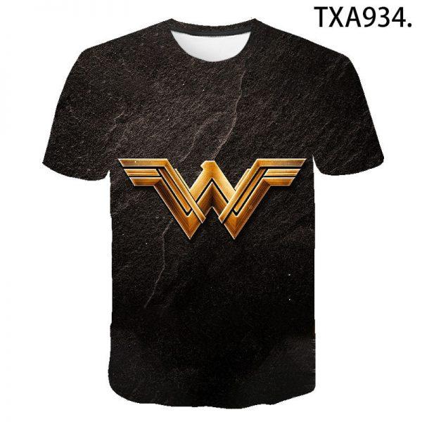 Wonder Woman 3D T Shirts