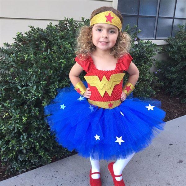 Wonder Woman Costume For Kids