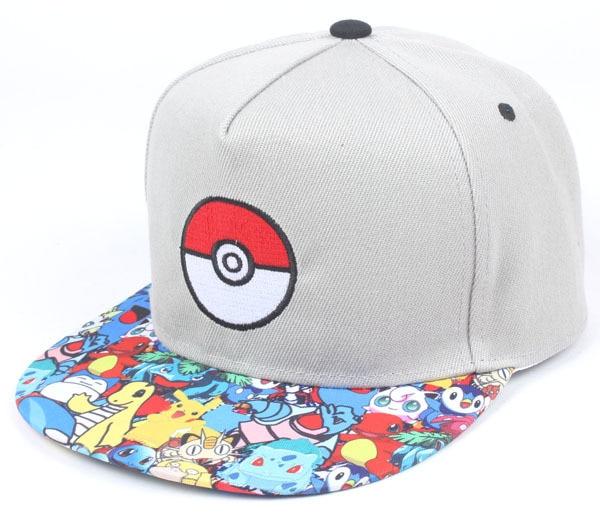 Pikachu Cartoon Printed Baseball Cap